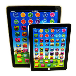 New-Kids-Children-TABLET-PAD-Educational-Learning-Toys-For-Boys-Girls-Baby-US