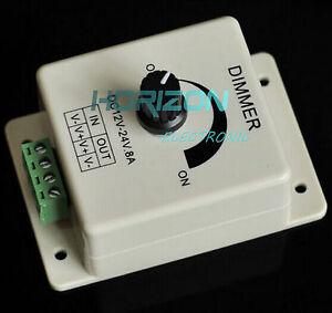 12V-8A-PIR-Sensor-LED-Strip-Light-Switch-Dimmer-Brightness-Controller-Power-Save