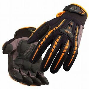 Black Stallion Anti-Vibration Mechanic's Work Gloves Large 20298