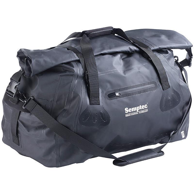 Taschen  Wasserdichte XL-Profi-Outdoor- und Reisetasche aus Lkw-Plane, 90 Liter