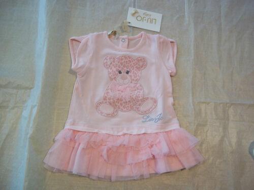 Abbigliamento bambina neonata abito Liu jo rosa con tulle 12 mesi Scontato