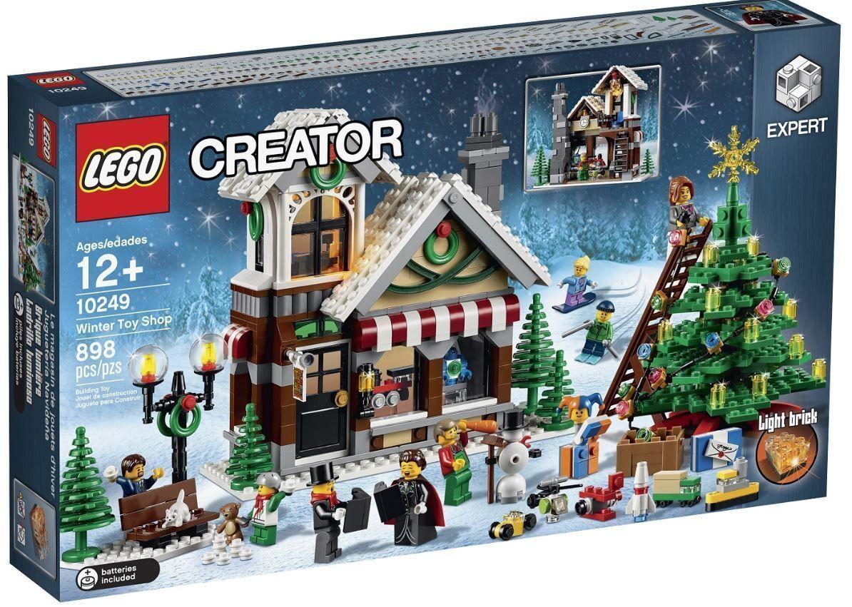 vendita online LEGO CREATOR COLLEZIONISTI 10249 IL NEGOZIO DI DI DI GIOCATTOLI INVERNALE NATALE NUOVO  edizione limitata