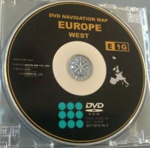 dvd navigation map europe toyota avensis 2018 MAP DVD TOYOTA LEXUS SAT NAV LATEST EUROPE DISC RAV4