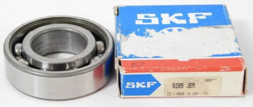 1 NEW in BOX SKF 6205-JEM Radial Deep Groove Ball Bearing Round Bore NOS Part