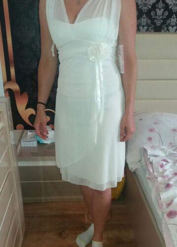 Kleid Festliche Aus Amerika Hochzeitskleid 36 Elegant Neu Anlässe Schlicht rfpqfOAI