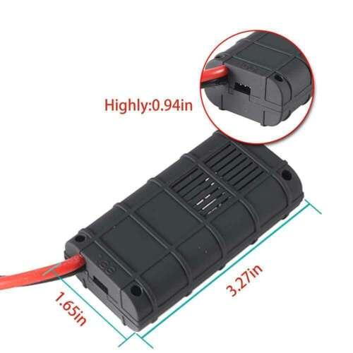 200A DC Digital Watt Meter Monitor LCD Volt Amp RC Battery Solar Power Analyser