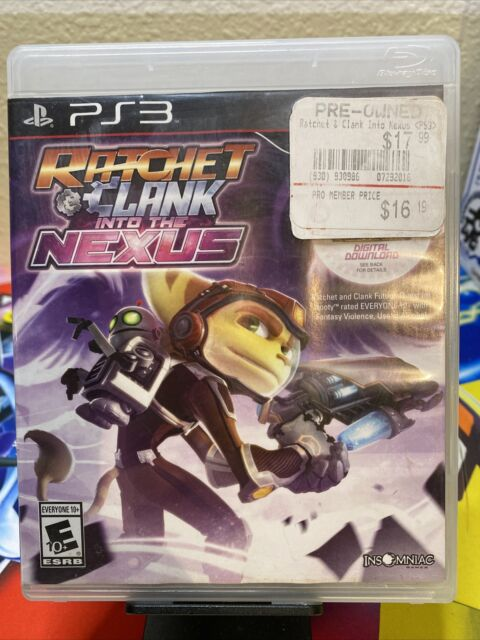 Ratchet & Clank: Into the Nexus (Sony PlayStation 3, 2013) PS3 With Insert