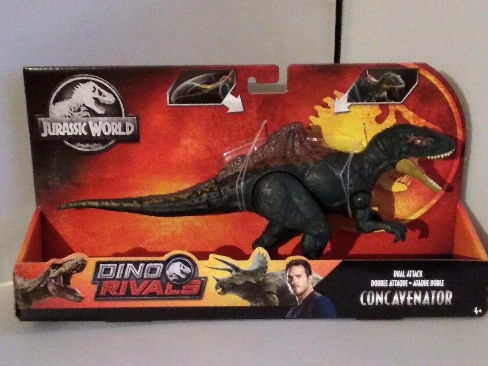 Jurassic World Dual Attack Dino Rivals Concavenator Dinosaur Figure BRAND NEW