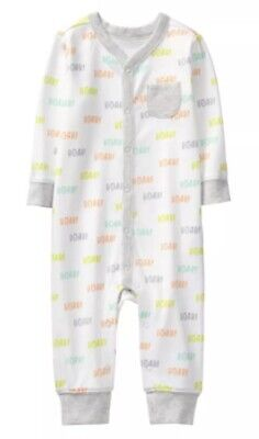 GYMBOREE Popsicle Baby Boy Sleeper Footed Nwt Size 6-9 M
