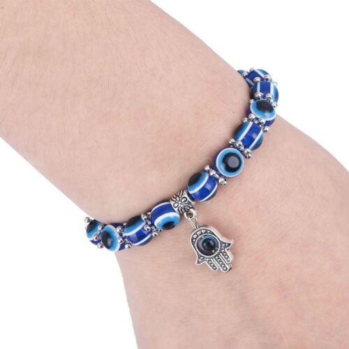 Bracelet Main de Fatma Khamsa Yeux