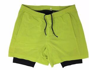 Lululemon-Short-Men-039-s-Athletic-Shorts-Size-Large-L-Green-Athletic-Shorts-Lined