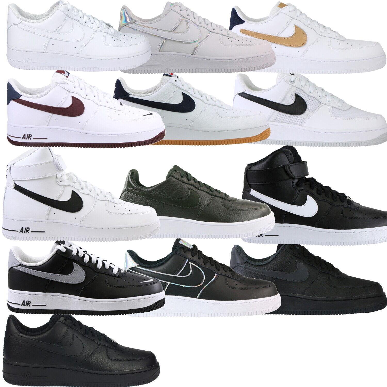 Nike sportswear scarpe uomo air force 1 '07, uomo, grigio aa4083 010 venti3 bianco pelle