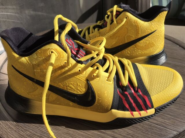 NIKE KYRIE 3 MAMBA MENTALITY Bruce Lee Size 9.5 US KYRIE IRVING