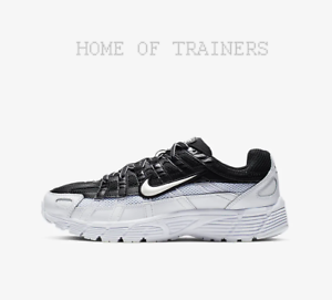 80e4390a Nike P-6000 Black White Girls Women's Trainers All Size Limited ...