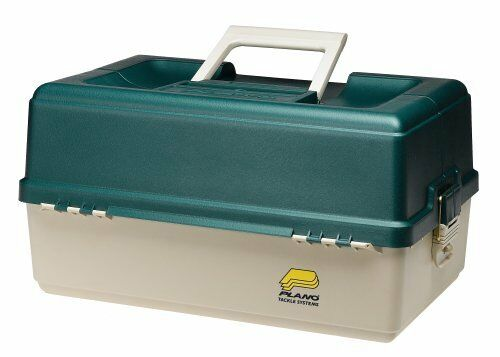 Plano Molding Large Six Tray Tackle Box - External Dimensions: 20.5