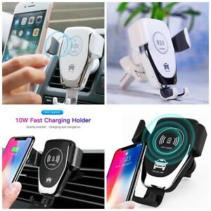 360-Qi-Wireless-Charger-Fast-Charging-Car-Mount-Phone-Holder-Automatic-Clamping