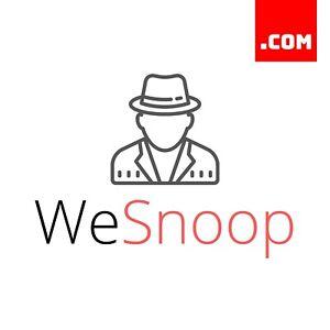 WeSnoop-com-7-Letter-Short-Brandable-Domain-Name-Dynadot-COM-Premium-Domains