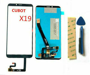 New Touch Screen Digitizer Glass +LCD Display For Cubot x19