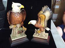 Pair of Eagle Figurines