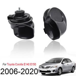 12V-125db-Snail-Horn-Loud-Waterproof-For-Toyota-Corolla-E140-E150-2006-2020