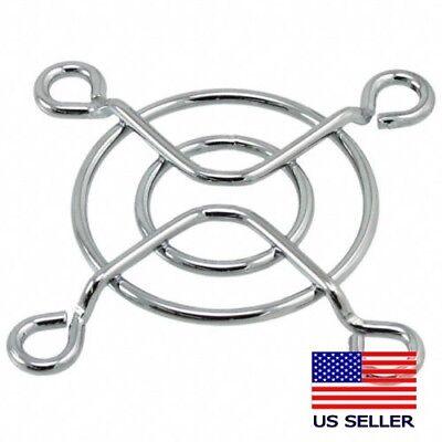 Chrome Metal Wire 40mm Fan Grill Finger Guard