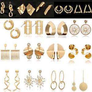 Fashion-Boho-Geometric-Round-Circle-Dangle-Drop-Ear-Stud-Earrings-Women-Jewelry