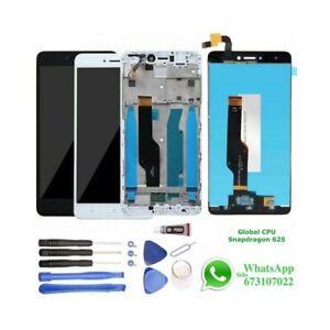 Pantalla-para-Xiaomi-Redmi-Note-4X-4-Marco-LCD-Tactil-Snapdragon-Blanca-Negra