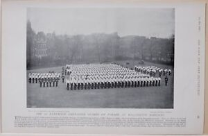 1896 Guerre Des Boers Ere 1st Bataillon Grenadier Guards Parade Wellington Gyotywsf-08002000-920065461