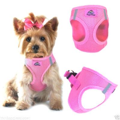 Dog Puppy Harness Doggie Design Neon Sport American River Aruba Blue
