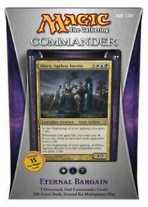 Eternal-Bargain-Commander-2013-Sealed-Unboxed-Deck-EDH-Mtg-Magic-Cards