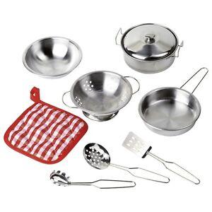 utensili-da-cucina-Kochset-9-tlg-51730-Goki-stoviglie-per-bambini-Set