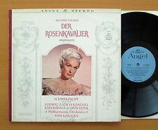 Strauss Der Rosenkavalier Schwarzkopf Karajan Angel Stereo S35645 NM + insert