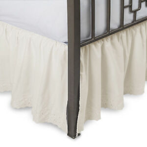 Eyelet-Ruffled-Bedskirt-with-Split-Corners