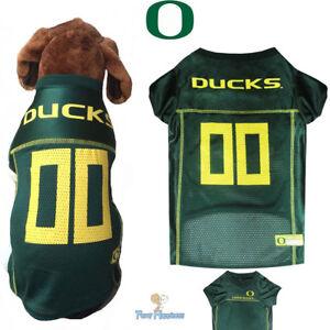 new styles 3721d c0c7a Details about NCAA Pet Fan Gear OREGON DUCKS Dog Jersey Shirt for Dogs BIG  SIZE XS-2XL XXL