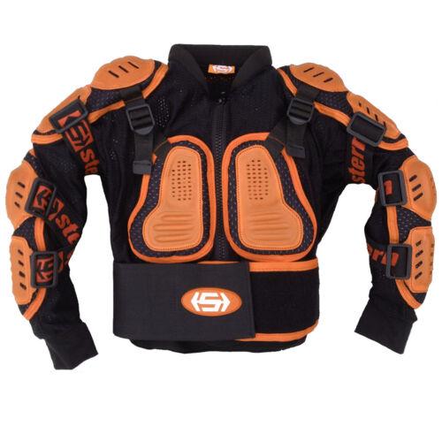 Ragazzini Giacca Quattro Bambini Stern Motocross Protezione 4 6 8 10 12 Anno