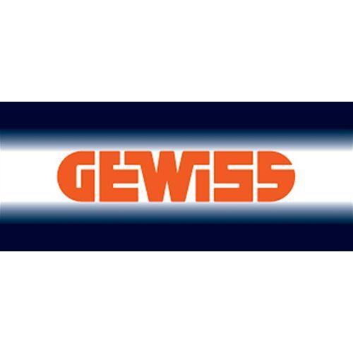ROSSO GERANIO PLAYBUS YOUNG GW32344 GEWISS PLACCA 4 P