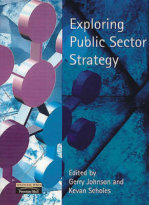 Exploring Public Sector Strategy-ExLibrary