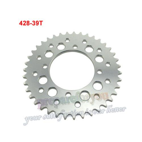 428 39Teeth 76mm Aluminum Billet Rear Sprocket For 150 160 170cc  Pit Dirt Bike