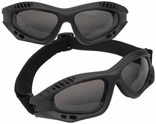 Tactical Goggles Anti Fog Shatterproof Polycarbonate Military Motorcycle ATV