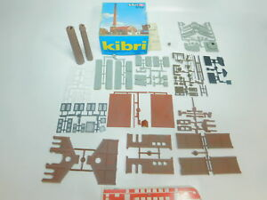 Bp374-1-KIBRI-h0-9784-Kit-Chaufferie-avec-cheminee-ungebaut-Neuw-neuf-dans-sa-boite