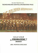 Blasmusiknoten Probuzeni / Marsch