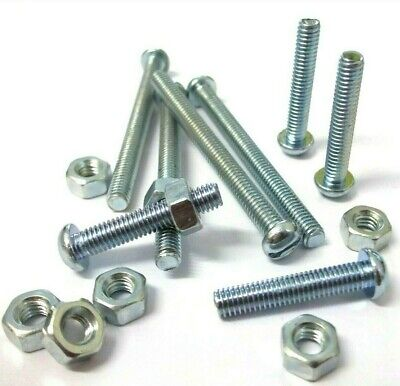 2BA x 1in Stainless Slotted Round Hd Screws