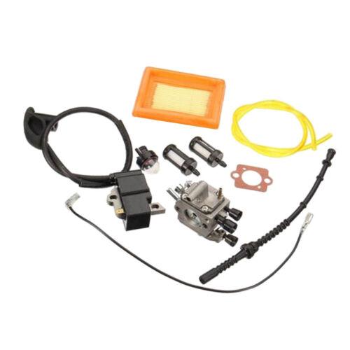 Carburetor Filter Ignition Coil for STIHL FS120 120R FS200 FS250 FS300 FS350