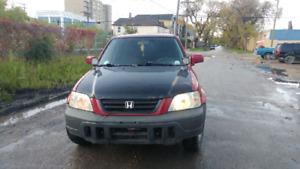 2001 Honda CRV EX AWD