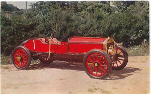 Austin-100-HP-GP-racing-1908-MODERN-postcard-issued-by-Salmon