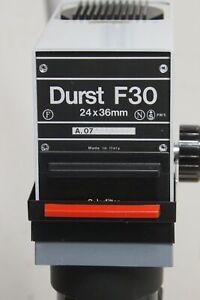 Occasion : Agrandisseur photo DURST F30 avec objectif TRINAR 50mm F4.0
