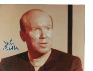 John-Fiedler-Star-Trek-034-Hengist-034-Hand-Signed-Color-Autograph-in-Person-Rare-COA