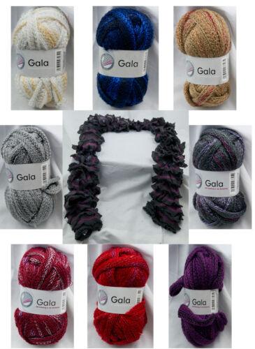 Knitting Scarf Yarn Wool Gala Get one Free! Buy one