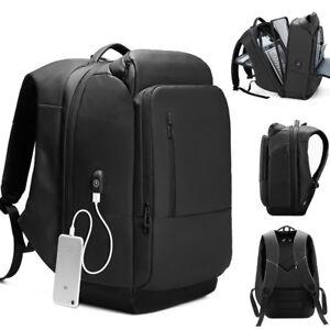 Water-Resistant-Business-Backpack-Travel-Rucksack-17-034-Laptop-bag-Charging-Port