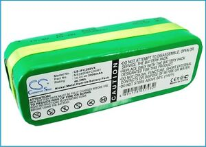 14,4 v batterie pour Infinuvo CleanMate QQ 2L, CleanMate QQ2